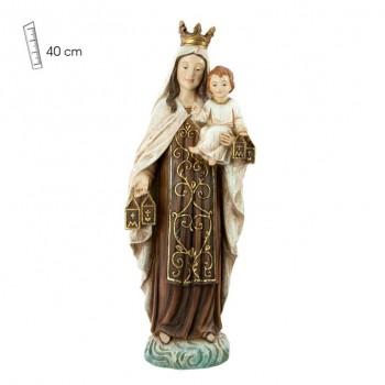 Virgen del Carmen 40cm -...