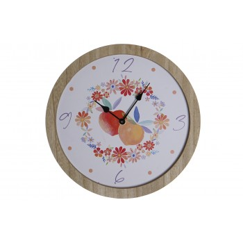 Reloj Madera Melocotones 30...