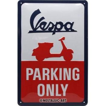Vespa Parking Only - Cartel...