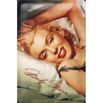 Marilyn Monroe Placa Metal...