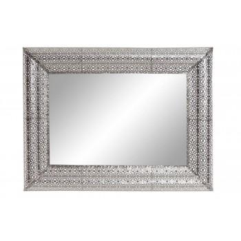 Espejo Metal Cromado 85 cms