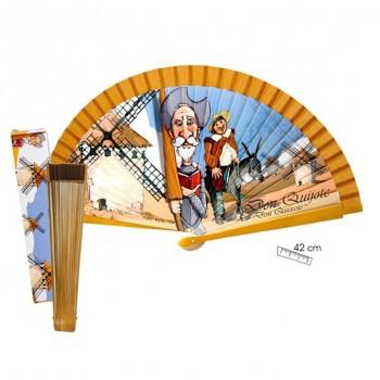 Abanico Quijote - 42 cms