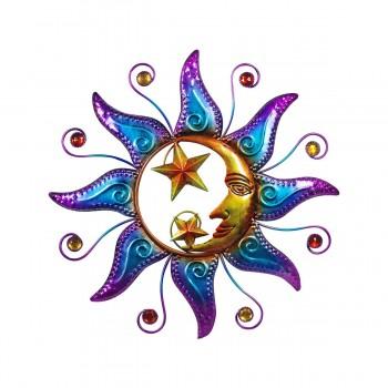 Sol y Luna Deco Pared - 40 cms