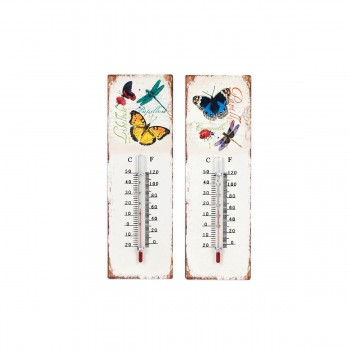 Termómetro Mariposas  - 25cms