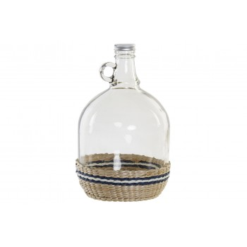 Botella Cristal Rattan - 28cms