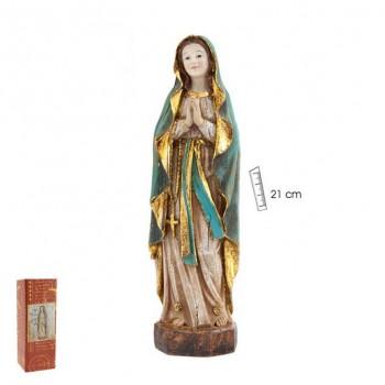 Virgen Lourdes 21cms -...