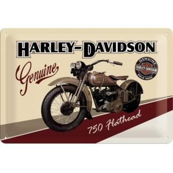 Harley Davidson Placa 20x30cms