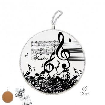 Salvamantel Música 19 cms