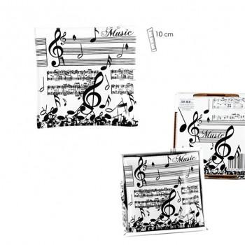 Plato Música 10 x 10cms