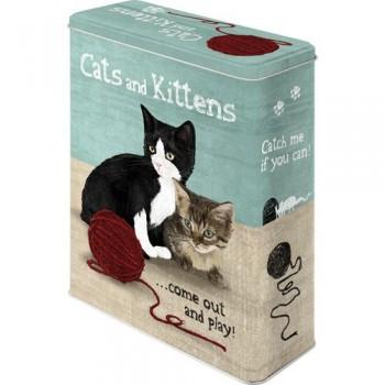 Cats & Kittens -Caja XL
