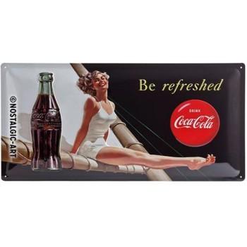 Coca-Cola Cartel 25x50 cms...
