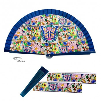 Abanico Mosaico 42 cms