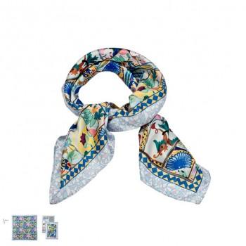 Pañuelo Mosaico 65 x 65 cms