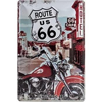 Route 66 Lone Rider Placa...