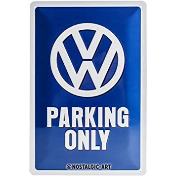 VW Parking Only Placa 20 x...