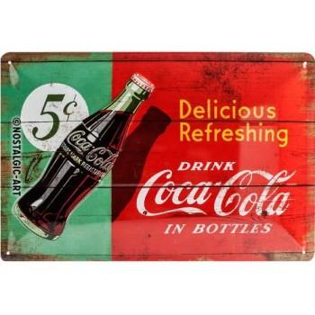 Coca-Cola 1950 Placa 20 x...