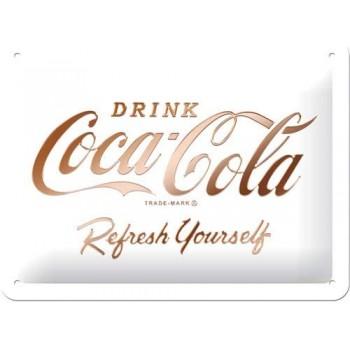 Coca Cola White - Placa 15...