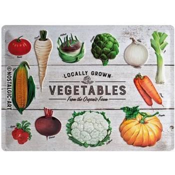 Vegetables Placa 30 x 40 cms