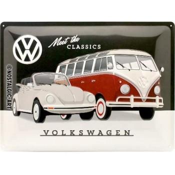 Vw Meet the Classics Placa...