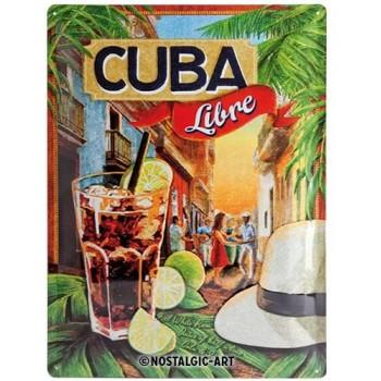 Cuba Libre Placa 30 x 40 cms