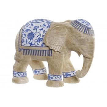 Elefante Figura Resina 25cms