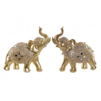 Elefante Figura Resina 20cms