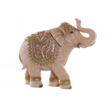 Elefante Figura Coral 28,5cms